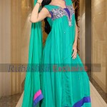 Rubashka Fashion New Party Wear Frocks Collection 2014 2