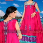 Rubashka Fashion New Party Wear Frocks Collection 2014 3