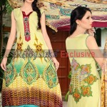 Rubashka Fashion New Party Wear Frocks Collection 2014 4