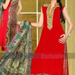 Rubashka Fashion New Party Wear Frocks Collection 2014 5