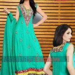 Rubashka Fashion New Party Wear Frocks Collection 2014 8