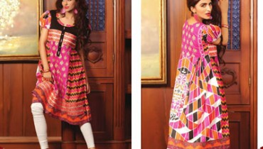 Sahil Kurti Collection By Shariq Textile 2014-15 2