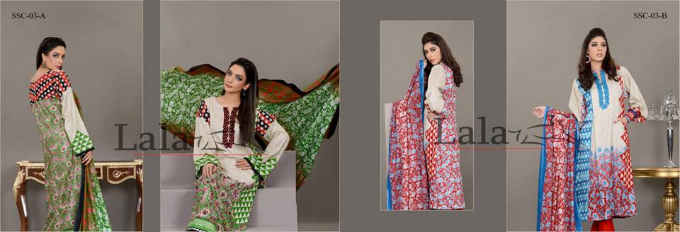 Sana & Samia - Mid Summer Cotton Collection by Lala. 4