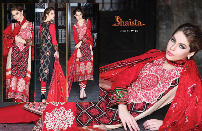 Shaista Outfits Eid Eid ul Azha Event Assortment 2014-15 (6)