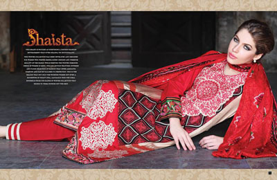 Shaista.cloth Eid Dresses Collection 2014 1