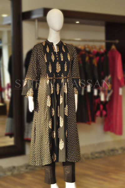 Shirin Hassan Eid Wear Dresses Collection 2014 12