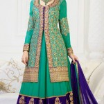 Special Night Anarkali Clothes Collection 2014 (2)