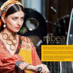 Summer Season Ending Brand New Kurti Images 2014-15  Shariq Textiles By Rabea (10)