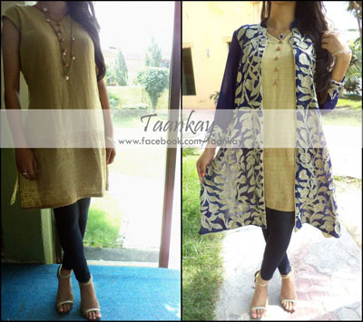 Taankay New Eid Dresses Collection 2014 1