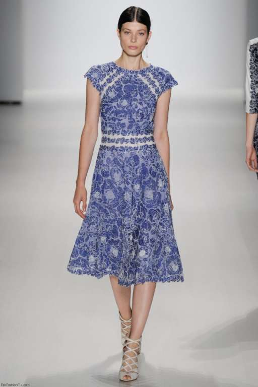Tadashi Shoji Stylish Elegant Clothes Assortment 2014  NYF Week (4)