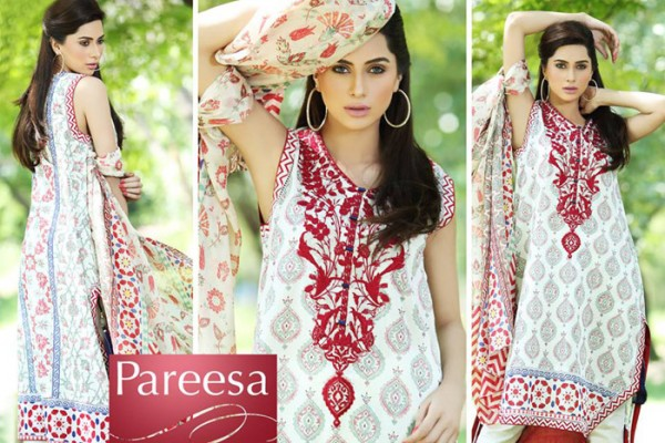 Trendy Pareesa Bakra Eid Have on Outfits 2014 by Chen One (1)