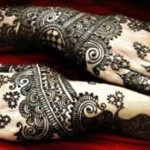 Wonderful Style Eid-Ul-Azha Mehndi Selection 2014 For Females (5)