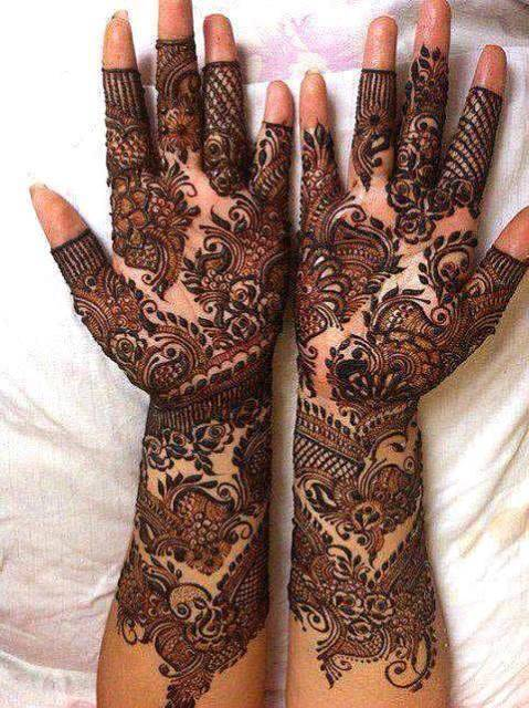 Wonderful Style Eid-Ul-Azha Mehndi Selection 2014 For Females (6)