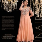 Zunaira's Lounge Party Wear Dresses Collection 2014 2