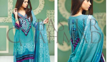 BASHIR AHMAD LINEN 2014-15 Collection 14