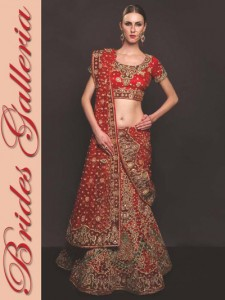 Bridal Wear Heavy Lehengas Collection 2014-15 1