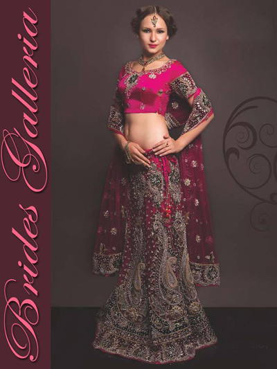 Bridal Wear Heavy Lehengas Collection 2014-15 3