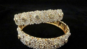 Bridal Wedding Bangles Collection 2014-15