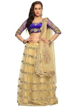 Cbazaar Cool Engagement Lehenga Choli Creations 2014-15 (4)
