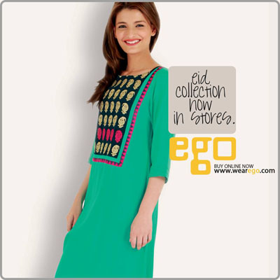 Ego Girls Kurta Stylish Selection 2014 (4)