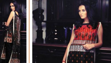 Firdous Cambric Collection 2014-15 For Girls 1
