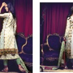 Firdous Cambric Collection 2014-15 For Girls 4