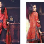 Firdous Cambric Collection 2014-15 For Girls 7