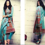 Firdous Cambric Collection 2014-15 For Girls 8