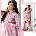 Firdous Clothes Autumn Attractive Prints 2014 For Girls (2)