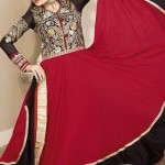 Georgette Anarkali Suits Collection 2014-15 4