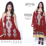 Ghani Kaka weightless Chiffon Collection 2014-15 1