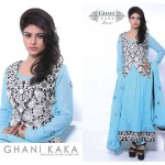 Ghani Kaka weightless Chiffon Collection 2014-15 7