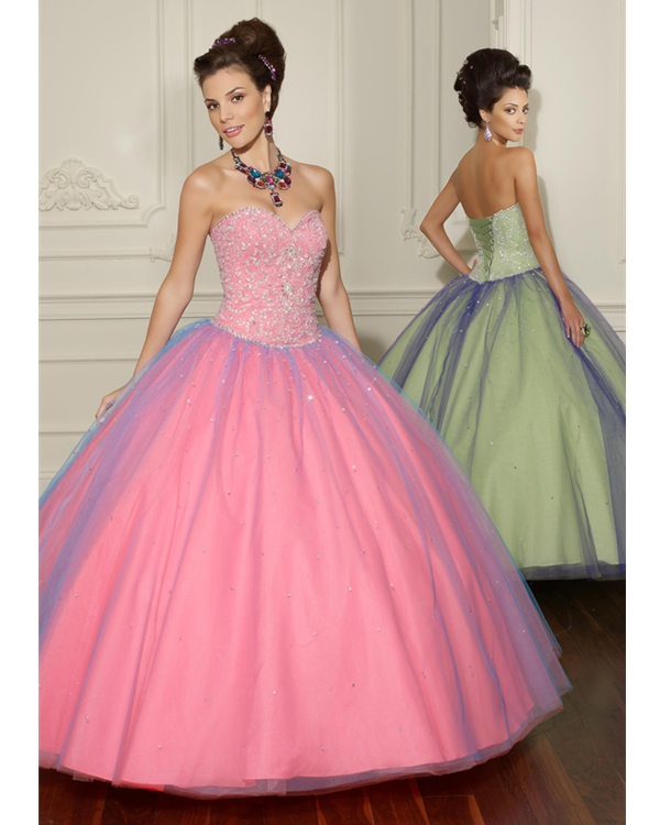 Gorgeous Pink Event Ball Gowns Assortment For Women (2)