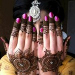 Indian Engagement Henna Fashions Gallery 2014-15 For Girls (1)