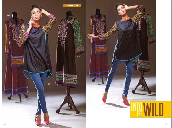 Ittehad Next Season Linen Assortment 2014-15 For Ladies (2)