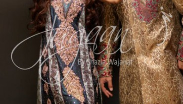 Jugaan Bridal Wear Dresses Collection 2014-15