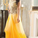 Kaneesha Beautiful Floor Lenght Frocks Collection 2014 6
