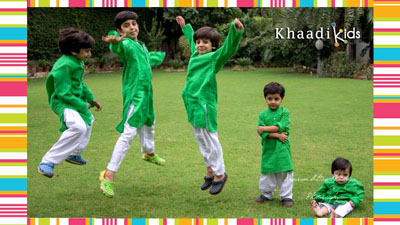 Khaadi kids wear dresses collection 2014-15