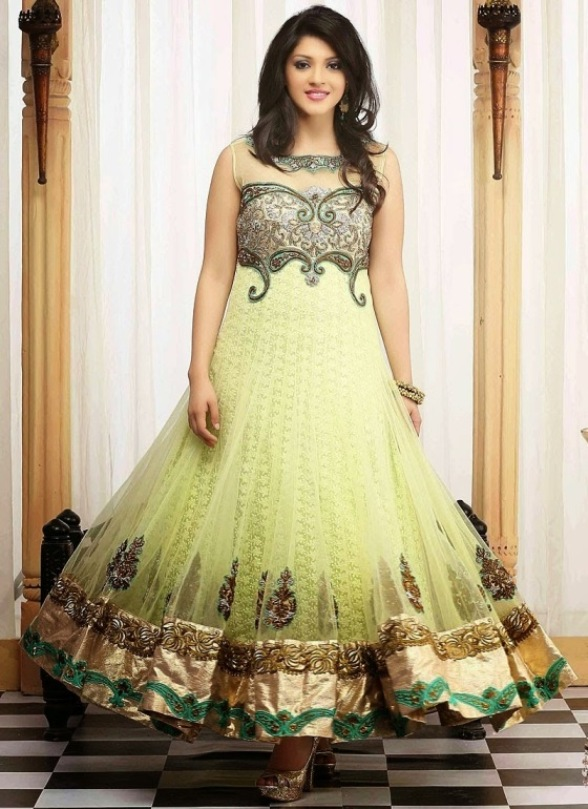 Lovely Anarkali Garments Pattern for Females (1)