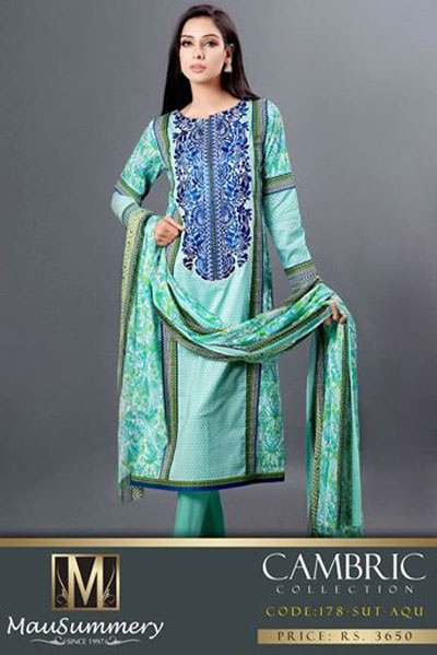 Mausummery New Eid Wear Dresses Collection 2014-15