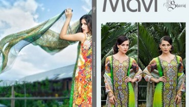 Mavi Designer Embroidered Collection 2014-15