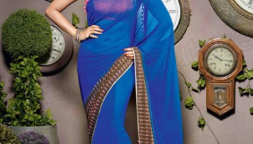 Natasha Couture Beautiful Sarees Collection 2014-15 1