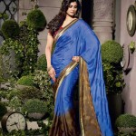 Natasha Couture Beautiful Sarees Collection 2014-15