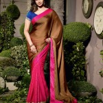 Natasha Couture Beautiful Sarees Collection 2014-15 3