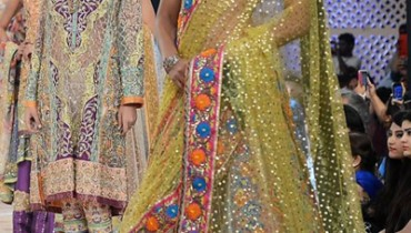 Nomi Ansari Gul Collection PFDC L LOreal Paris Bridal Week 2014 1