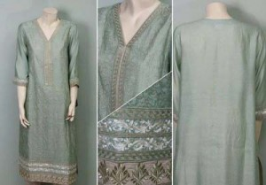 Partially Embroided Fashion Kurti Variety 2014-15 For Ladies (3)