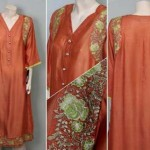Partially Embroided Fashion Kurti Variety 2014-15 For Ladies (4)