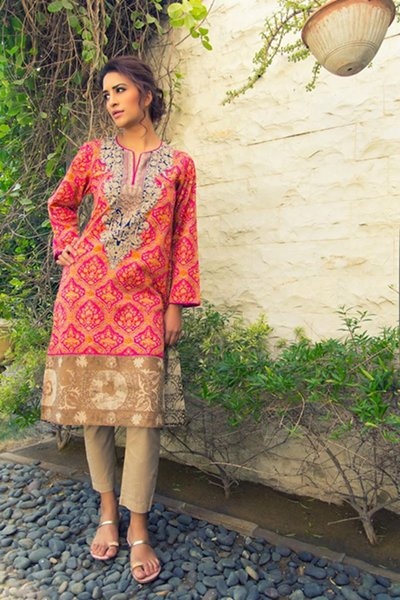 Sana Safinaz Relaxed Eid Garments 2014 (2)