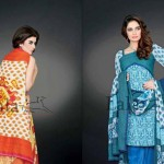 Sana & Samia Attractive Concepts 2014-15 For Ladies by Lala Textile (3)