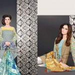 Sana & Samia Attractive Concepts 2014-15 For Ladies by Lala Textile (6)